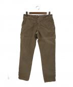 INCOTEX(インコテックス)の古着「製品染めコットンストレッチツイルパンツ」|ブラウン