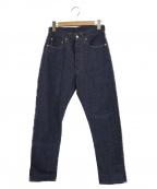 WORKERS(ワーカーズ)の古着「スリムテーパードジーンズ」|ブルー