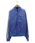 adidas originals×Pharrell Williams(アディダス オリジナルス×ファレル・ウィリアムス)の古着「コラボトラックジャケット」|ブルー