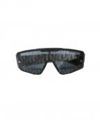 Dior(ディオール)の古着「オブリークミラーレンズサングラス」 ブラック