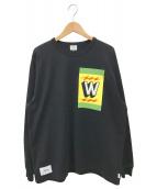 ()の古着「ロングスリーブカットソー」|ブラック