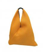 MM6 Maison Margiela()の古着「ジャパニーズメッシュトートバッグ」|オレンジ