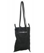 MM6 Maison Margiela(エムエムシックス メゾンマルジェラ)の古着「反転ロゴインサイドアウトキャンバストートバッグ」