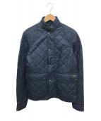 ()の古着「キルティングジャケット」|ネイビー
