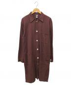 -(-)の古着「【古着】ミリタリーワークコート」 ブラウン