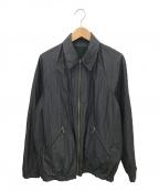 Paul Smith COLLECTION(ポールスミスコレクション)の古着「リバーシブルブルゾン」 ブラック×グリーン