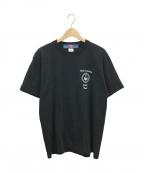 blackmeans(ブラックミーンズ)の古着「プリントTシャツ」|ブラック