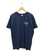 WASTED YOUTH(ウエステッドユース)の古着「プリントTシャツ」 ネイビー
