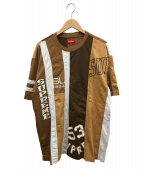 SUPREME(シュプリーム)の古着「リコンストラクテッドTシャツ」|ブラウン