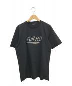 DIESEL(ディーゼル)の古着「FULL HDプリントTシャツ」|ブラック