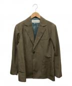 THE SHINZONE(ザ シンゾーン)の古着「W/Lテーラードジャケット」|ブラウン