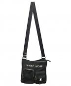 M+RC NOIR(マルシェノア)の古着「ロゴメッセンジャーバッグ」|ブラック