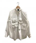 DAIWA PIER39(ダイワピア39)の古着「テックアングラーズシャツ」 ホワイト