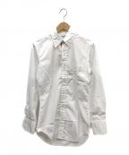 Thom Browne(トムブラウン)の古着「ポプリンンシャツ」|ホワイト