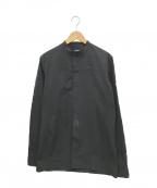 RAF SIMONS()の古着「バンドカラーシャツ」|ブラック