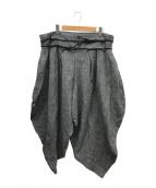 ()の古着「リネンゼロパンツ」 グレー