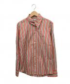 Vivienne Westwood man(ヴィヴィアン ウェストウッド マン)の古着「ストライプシャツ」|レッド