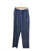 ()の古着「リネンイージーパンツ」|ブルー