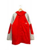()の古着「アキレスジャケット」 レッド×グレー