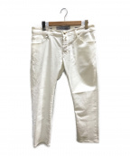 JACOB COHEN(ヤコブコーエン)の古着「ホワイトデニムパンツ」|ホワイト