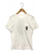 ()の古着「ダガーポケットTシャツ」|ホワイト
