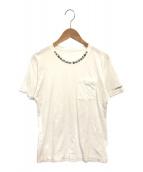 ()の古着「ネックロゴポケットTシャツ」|ホワイト
