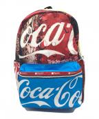 LeSportsac(レスポートサック)の古着「コラボナイロンリュック」|レッド×ブルー
