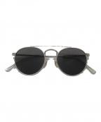 crap eyewear(クラップアイウェア)の古着「サングラス」|シルバー