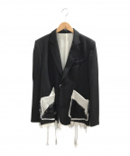 sulvam(サルバム)の古着「テーラードジャケット」|ブラック