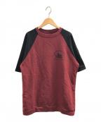 RAF SIMONS(ラフシモンズ)の古着「Virginia Creeper Tシャツ」|レッド×ブラック