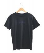 ()の古着「刺繍ロゴTシャツ」 ブラック
