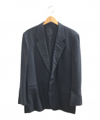 COMME des GARCONS HOMME DEUX(コムデギャルソン オム ドゥ)の古着「ウールジャケット」|ネイビー