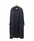 FRAMeWORK(フレームワーク)の古着「ステンカラーコート」|ネイビー