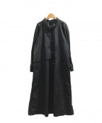 PORTRAIT(ポートレイト)の古着「[古着]ヴィンテージデザインコート」|ブラック