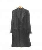 LANVIN BOUTIQUE(ランバン ブティック)の古着「チェスターコート」|ブラック