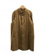 BROOKS BROTHERS(ブルックスブラザーズ)の古着「ステンカラーコート」|ブラウン