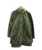 ()の古着「[古着]M59ボアライナー付ミリタリーコート」|グリーン