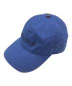 COACH(コーチ)の古着「ロゴキャップ」|ブルー