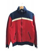 ()の古着「[古着]ヴィンテージトラックジャケット」 ネイビー×レッド