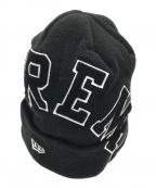 SUPREME×NEWERA(シュプリーム ×ニューエラ)の古着「アーチロゴニット帽」|ブラック