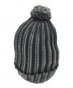 SUPREME(シュプリーム)の古着「スモールロゴニット帽」|ブラック