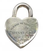 TIFFANY & Co.(ティファニー)の古着「ハートロックモチーフペンダント」
