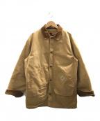 CarHartt(カーハート)の古着「[古着]ヴィンテージライナー付きワークジャケット」|ブラウン