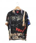 SUPREME(シュプリーム)の古着「S/Sオープンカラーシャツ」|ブラック