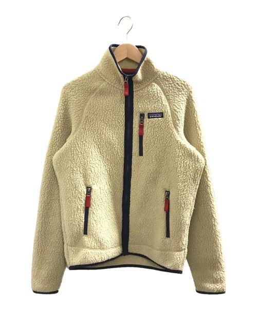 Patagonia(パタゴニア)Patagonia (パタゴニア) レトロパイルジャケット アイボリー サイズ:Sの古着・服飾アイテム
