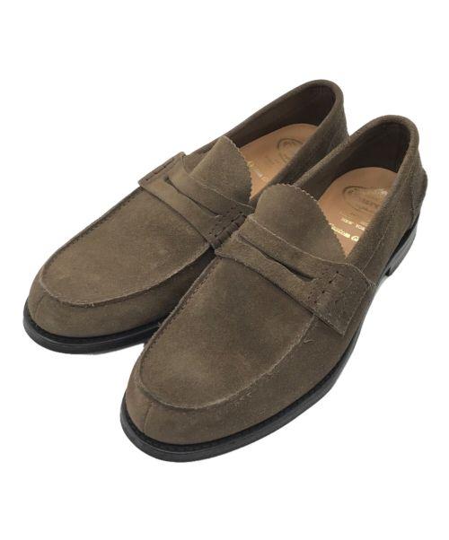 CHURCH'S(チャーチ)CHURCH'S (チャーチ) スウェードローファー ブラウン サイズ:10の古着・服飾アイテム