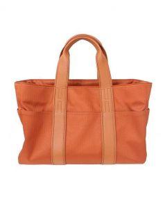 HERMES(エルメス)の古着「ラージハンドバッグ」|オレンジ