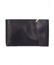 Valextra(ヴァレクストラ)の古着「レザー札入れ/長財布」|ブラック
