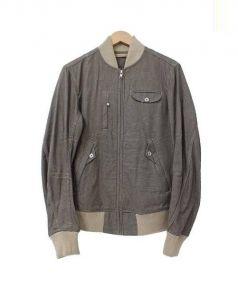 DIESEL(ディーゼル)の古着「グレンチェックブルゾン」|グレー