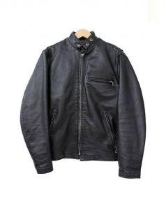 Schott(ショット)の古着「ボアライナー付ライダースジャケット」|ブラック